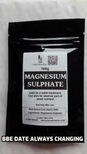 MAGNESIUM SULPHATE 100g Home brew and wine additive