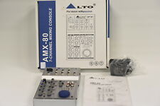 Alto AMX-80 7-Channel Mixing Console in Original Box with Accessories