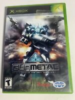 Gun Metal (Microsoft Xbox, 2002) GAME COMPLETE W/ CASE & MANUAL TESTED WORKS