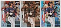 Juan Soto 2021 Topps Chrome PRISM, SEPIA, And SILVER Refractor Lot!