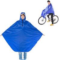 Mantella Poncio Impermeabile Con Cappuccio Anti Pioggia Vento Bici Poncho  772