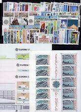 EUROPA: ANNEE 1987 QUASI COMPLETE DE 74 TIMBRES+ 4 BLOCS NEUF** Cote: 298,00 €