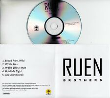 RUEN BROTHERS Sampler - Blood Runs Wild 2013 UK 5-trk numbered promo test CD