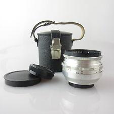 Für Exa 10 Meyer Optik Primagon 4.5/35 Objektiv / lens mit case