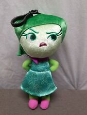 Disney Inside Out Disgust Zippered Clips 8 Inch Plush Figure Toys Movie