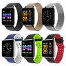 M19 Sport Smartwatch Fitness Tracker Armband Pulsuhr Blutdruck Uhr Android iOS