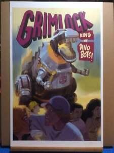 GRIMLOCK KING of the DINOBOTS! -  Poster
