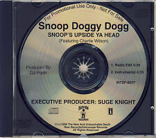 SNOOP DOGGY DOGG - Snoop's upside ya head 2TR PROMO CDS 1996 RAP / USA Print