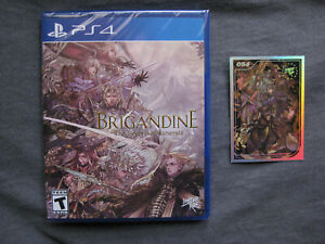 Brigandine Legend of Runersia Limited Run Games Brand New Sealed Sony PS4