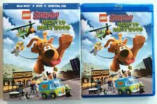 LEGO SCOOBY-DOO HAUNTED HOLLYWOOD BLU RAY DVD 2 DISC + MINT SLIPCOVER SLEEVE