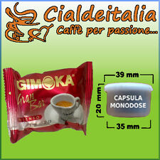 100 capsule caffè GIMOKA Gran Bar - Comp. Lavazza Espresso Point