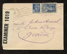 ALGERIA 1943 CENSOR COVER to SWITZERLAND