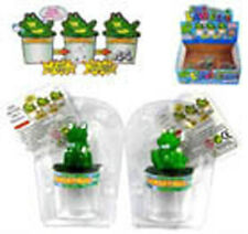 2 MAGIC FROGS LAYING GROWING EGGS educational grow toys magical growing egg new