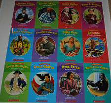 SET 12 Biographies Books Grade 1 2 Guided Reading Level I J Homeschool Teaching
