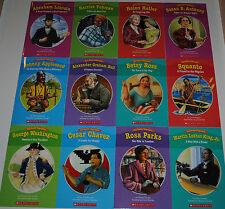 SET 12 Biographies Books Grade 1 2 Guided Reading Level I J Homeschool Teaching