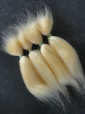MOHAIR  100%  Bébé REBORN - REBORNING - ROOTING 30g -long- BLOND PALE