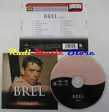 CD BREL MASTER SERIE 2003 UNIVERSAL BIOGRAFIA NO lp mc dvd vhs