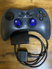 Playstation 2 PS2 Wireless Logitech Controller And Dongle Free Shipping