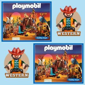 Playmobil Western * 3870 * Indian Camp Thunder * Spares * SPARE PARTS SERVICE *