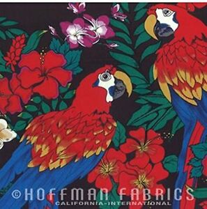 Hoffman Tropical Screenprint Quilt Fabric By The Yard