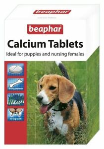 Beaphar Calcium Tablets Nursing & Whelping Bitches Young Puppy & Working Dog