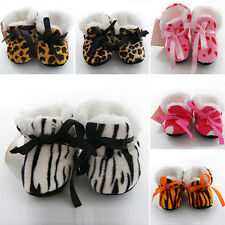 6-12 Months Baby Girls Newborn Winter Warm Boots Toddler Infant Soft Sole Shoes