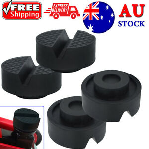 Universal 4PCS Rubber Jacking Jack Pad Lift Pinch Weld Adapter Frame Protector