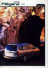 Renault Megane Kombi 02 / 2000 catalogue brochure Poland polonais