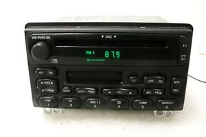 Ford CD cassette AM/FM RADIO OEM Explorer Mountaineer Mustang Expedition 02-05