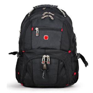 """17"""" Swiss Gear Waterproof Laptop Travel School Bag Macbook Hike Backpack AU"""
