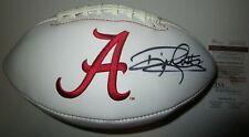 Derrick Henry Alabam Crimson Tide logo Auto Autographed Signed Football JSA COA