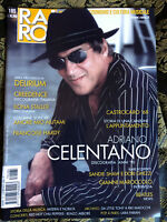 RARO! 185 Magazine about discography ps CELENTANO Creedence Delirium Beatles