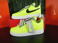 Nike AF1 Air Force 1 Utility Volt White Black Grey AO1531-700 Multi Size