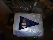 London Thames Boat Yacht Club Boat Ship Marina Pennant Flag Burgee Sloop River L