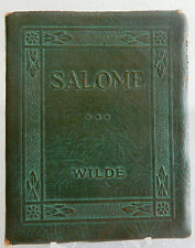 Wilde - Salome - Book Little Leather Library Redcroft