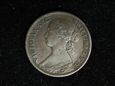 1865 Great Britain Farthing - Young Victoria - XF