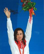 Rebecca Soni Swimming *Olympic Gold Medalist* Hand Signed 8x10 Photo w/COA