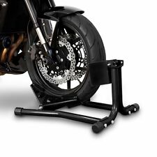 ConStands Easy Motorrad Wippe Ständer Vorderrad Easy Black vorne 16 bis 19 Zoll
