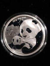 2019 Chinese Silver Panda Coin 30G 10Yuan  999 Fine Silver BU
