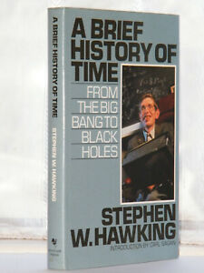 Stephen Hawking - A Brief History of Time 1990 Edition