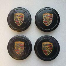~Porsche Center Caps ~911,912,930,944 ~Genuine Factory Oem~Came off set Fuchs
