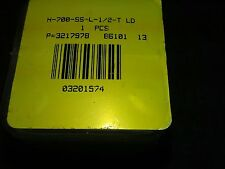 Ham-let Valve H-700-SS-L-1/2-T LD P 3217978 86101 New in box
