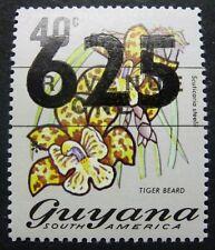 Guyana 1981 Blume Blüte Flower Blossom Pflanze Plant Aufdruck 676 Postfrisch MNH