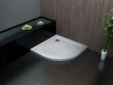 90 x 90 cm Acryl Duschtasse Duschwanne Dusche Brausewanne 50 mm Viertelkreis