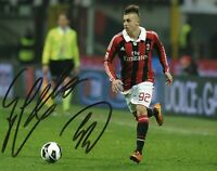 Foto Autografo Calcio Stephan El Shaarawy Asta Beneficenza Soccer Sport Signed