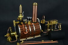 Twin Cylinder Marine Steam Engine With Horizontal boiler+ Tank