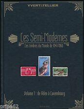 Catalogue Yvert et Tellier Timbres Semi-Modernes du Monde de 1941 à 1960 Vol.1