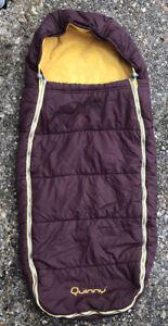 Genuine quinny footmuff Brown Yellow Cosy toes Sleeping Bag