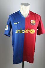 FC Barcelona Trikot Gr. M Nike Jersey 2008-2009 Home FCB Unicef