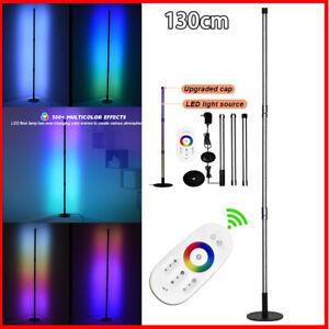 LED Design Ecklampe | Stehlampe | RGB | RGB mit Fernbedienung Stehleuchte 130cm